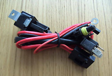 HID KIT Wiring Loom Single Harness H4  High Low Xenon Motorcycle