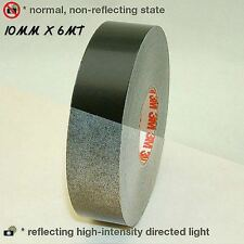 3M™ 580 scotchlite reflective vinyl tape stripe black color 10mm x 6MT car truck
