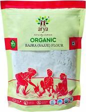 Bajra Grain Atta Pearl Millet sajje Kambu grains entiers de farine, 500 g Chaque...