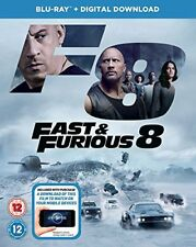 Fast and Furious 8 BD  digital download [Bluray] [2017] [Region Free] [DVD]