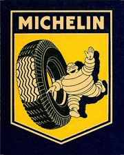 Michelin Tire advertisement ENAMEL METAL TIN SIGN WALL PLAQUE