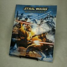 Star Wars Miniatures ULTIMATE MISSIONS: CLONE STRIKE, d20, Book, No Map, VGC