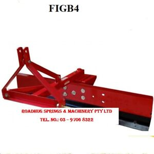 GRADER BLADE - 4 ft. (120 cm) 3 point linkage Part No.: FIGB4
