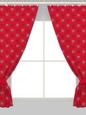 Children's Football Bedroom Curtains