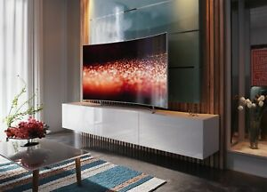 Modern Living Entertainment Wall Unit TV Stand BOXING 14 Gloss - 2 Colours