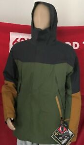 2020 NWT 686 GORE TEX Zone Thermagraph Jacket Snowboard Mens L Large Green a65
