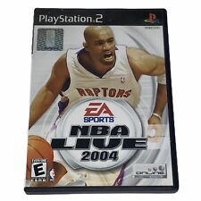 NBA Live 2004 Sony PlayStation 2 PS2 Complate w/Manual CIB Tested Works