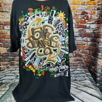 5ive Jungle Kings County Black  Graphic Shirt Sz Xl