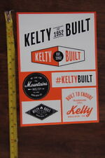 KELTY Backpack Tent 6 STICKERS Decals NEW