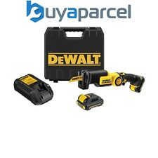Dewalt DCS310D2 10.8v Pivotante Sierra de Sable Ion de Litio + 2 Baterías