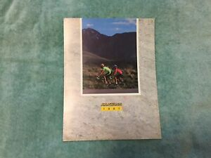VINTAGE VERY RARE SANTANA CYCLES 1991 TANDEM CATALOG