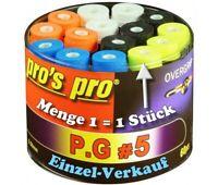 Pros Pro Griffband PG5 / P.G.5 - wählbar in 5 Farben (0,5 mm gelochtes Overgrip)