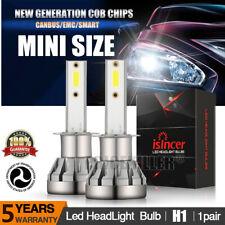 MINI H1 LED Headlight Kit 2500W 255000LM Hi-Lo Beam Fog Bulb 6500K White Lamp JO