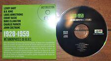 CD jazz Blues Leroy Gary BB King Armstrong Basie Ellington Parker Bird Coltrane