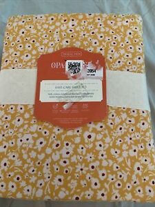 Opalhouse Ditsy Floral Sheet Set Twin XL Yellow New