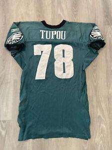 Fenuki Tupou Philadelphia Eagles Game Worn Practice Jersey 2009 Reebok NFL USA