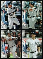 2020 Topps New York YANKEES Team Set Both Series 1 & 2 (25 cards)