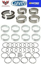 Ford 302 5.0 1996 – 2001 Hastings Moly Rings With Clevite Main And Rod Bearings