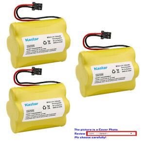 Kastar 4.8V Battery for Uniden Bearcat Sportcat SC140 SC140B SC-150 SC150 SC150B