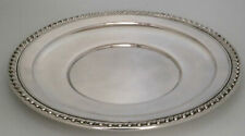 Sterling Silver Charger Tray by Wallace Halifax Pattern