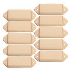 10 Pcs P 90 Dogear Guitar Pickup Covers Yellow Undrilled no hole