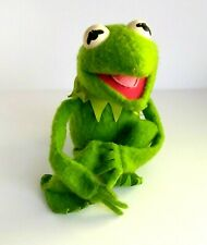 Kermit The Frog 1976 Vintage Fisher Price Soft Toy With Velcro Hands & Feet (v5)