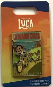 Disney Pixar Luca La Grande Coursa Portorosso Italy LR Pin