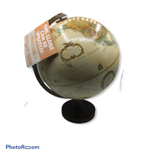 "Vintage Replogle Globe World Classic Series Wood Base 12"" in Diameter"