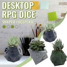 3Pcs Dice Flower Planter Flowerpot Succulent Plant Pot Home Garden Supply