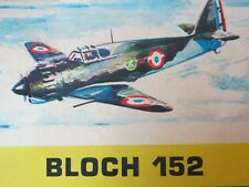 Heller Buzco Bloch 152.  1/72 kit WW2 French fighter