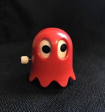 Vintage Pac Man Red Ghost Wind Up Toy TOMY 1980 Works