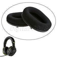 2x Black Replacement PU leather Ear Cushion Earpads For Turtle Beach XO4 Headset