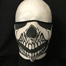 Biker Mask Skull Skeleton Neoprene Half face Mask