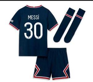 Kit maillot psg enfant (domicile ) **2021/22**Messi , Neymar, Mbappé