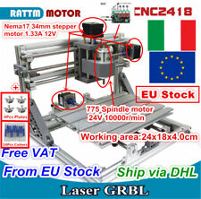 【IT ship】CNC 2418 Router Mini DIY Pvc Pcb Milling Desktop Wood Engraving Machine