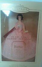 NIB Hallmark Keepsake Christmas Ornament 2003 Barbie In The Pink Fashion Model