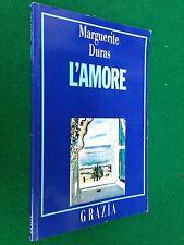 Marguerite DURAS - L'AMORE , Ed. speciale Grazia (1989)