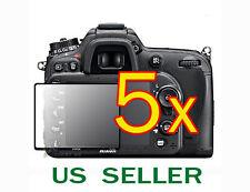 5x Nikon Digital SLR D7100 D7200 Camera Clear LCD Screen Protector Guard Shield