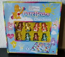 Care Bears Checkers Game Set of 25 PVC Plastic Figurines Board game 2003