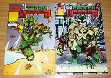Ebony Warrior #1-2 VF/NM complete series AFROCENTRICK black super hero set lot