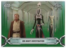 2019 Star Wars Chrome Legacy Green Refractors 32 Lama Su Obi-Wan Kenobi 28/50