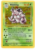 Nidoking - Base Set - 11/102 - Holo-foil Rare -  Pokemon Card - Lightly Played