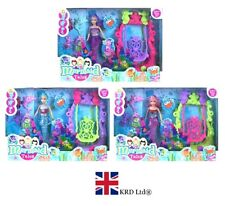 MERMAID DOLL PLAY SET Princess Sea Life Creatures Ariel Girls Toy Gift 433010 UK