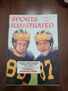 Sports Illustrated November 12, 1956 Maentz/Kramer Michigan Wolverines Football