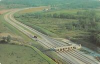 Eastpoint Indiana Toll Road I-90 Vintage Postcard A01