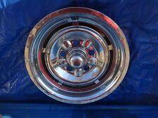 "1963 63 1964 64 Pontiac Custom Sport Hubcap 14"" OEM FRONT Wheel Cover Hub Cap"