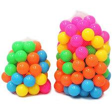 100 Stk Bunte Farben Bälle Kinderbälle Spielbälle Bällebad Kugelbad Bälle Φ55cm