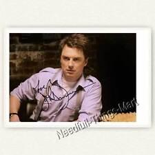 John Barrowman Alias Jack Harkness from Torchwood Autograph Photo Card [a01]