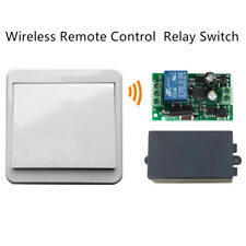 Wireless Remote Control 1-CH Relay Switch Transmitter & Receiver AC 110V 220V