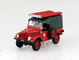GAZ 69 Feuerwehr Blister 1:43 De Agostini Modellauto